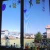 Colorful Kitchen Window Decor