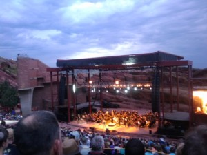 CSO in concert at Red Rocks