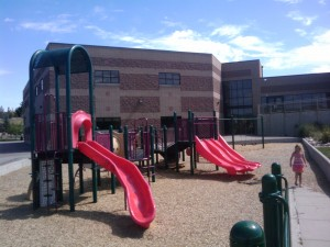 School playground for K-3rd grade