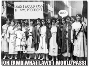 Laws I would pass if I was President